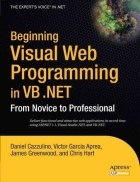 Beginning Visual Web Programming in VB NET From Novice to Professional