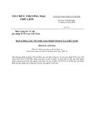 Biểu cam kết dịch vụ WTO