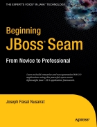 Beginning JBoss Seam From Novice to Professional