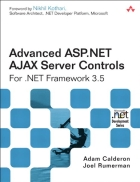 Advanced ASP NET AJAX Server Controls For NET Framework 3 5