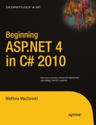Beginning ASP NET 4 in C 2010