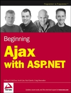Beginning Ajax with ASP NET