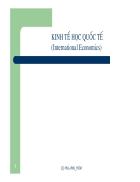 Bài giảng kinh tế học quốc tế