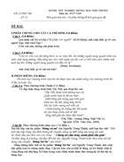 Đề thi thử môn Văn 2
