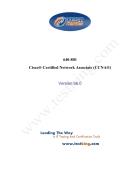 Cisco Certified Network Associate CCNA Version 66 0