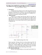 Tự động hóa thiết kế mạch điện tử trên Computer