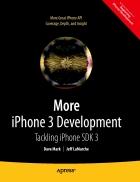 More iPhone 3 Development Tackling iPhone SDK 3