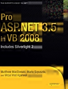 Pro ASP NET 3 5 in VB 2008 Includes Silverlight 2