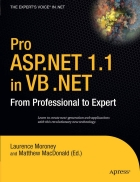 Pro ASP NET 1 1 in VB NET From Professional to Expert
