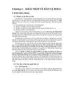 Khái niệm về bảo vệ rơle
