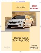 Tài liệu đào tạo về công nghệ Hybrid trên xe KIA Optima 2011