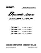 Shop manual máy đào KOBELCO sk450 480