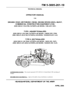 Shop manual máy san CATERPILLAR 130G P1
