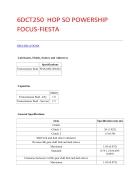 Tài liệu hộp số xe ô tô FORD FOCUS và FORD FIESTA