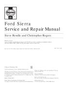 Xe ô tô Ford Sierra phần Service and Repair Manual