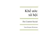 Khế ước xã hội Tiếng Việt