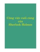 Công việc cuối cùng của Sherlock Holmes