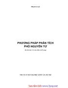 Phương Pháp Phân Tích Phổ Nguyên Tử Giáo trình và tài liệu