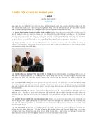 7 điều tối kị khi phỏng vấn