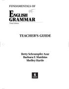 Azar s Fundamentals of English Grammar Teacher s Guide 3rd Edition