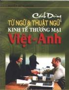 Viet Anh Cách dùng từ ngữ và thuật ngữ kinh tế thương mại
