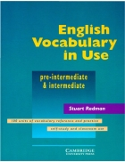 Cambridge English Vocabulary In Use Pre int and In termediate