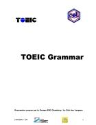 Toeic grammar version