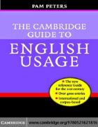 Guide to English Usage