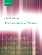 The Grammar of Names Linguistics