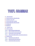 Văn phạm thi TOEFL