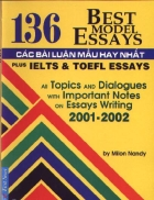 136 bài luyện Essay hay nhất