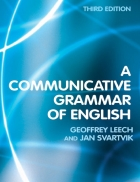 A Communicative Grammar of English Third Edition Geoffrey Leech Jan Svartvik