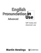 Cambridge English Pronunciation in Use Advanced