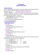 Chương 3 các hàm cơ bản trong excel ham FUNCTION