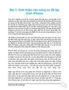 Lập trình IPhone
