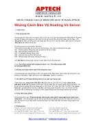Những cách bảo vệ Hosting và Server