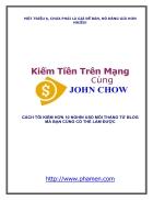 Kiếm tiền trên mạng cùng John Chow