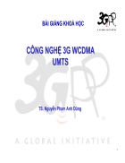 Mạng 3G WCDMA UMTS