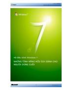Windows 7 Những Tính Năng Hữu Ích Cho Người Dùng Cuối