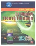 Giáo trình Lý thuyết Tiền tệ Tín dụng Phan Thị Thanh Hà chủ biên Trịnh Đỗ Quyên