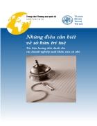 Những điều cần biết về sở hữu trí tuệ Tài liệu hướng dẫn dành cho các doanh nghiệp xuất khẩu vừa và nhỏ Geneva 2004 TỔ CHỨC SỞ HỮU TRÍ TUỆ THẾ GIỚI