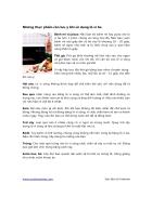 Những thực phẩm cần lưu ý khi sử dụng lò vi ba