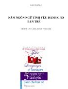 Ebook 5 ngôn ngữ tình yêu dành cho bạn trẻ