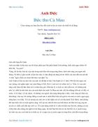 Ebook Bức thư Cà Mau Anh Đức