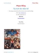 Ebook Sự tích thờ thần hổ Phạm Hồng