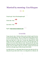 Ebook Married by morning Lisa Kleypas