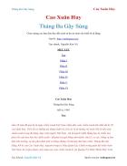 Ebook Tháng Ba Gãy Súng Cao Xuân Huy