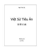 Ebook Việt sử Tiêu Án
