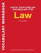 Check your vocabulary for Law