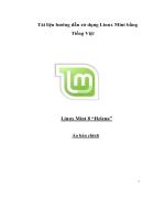 Hướng dẫn sử dụng Mint Linux 8